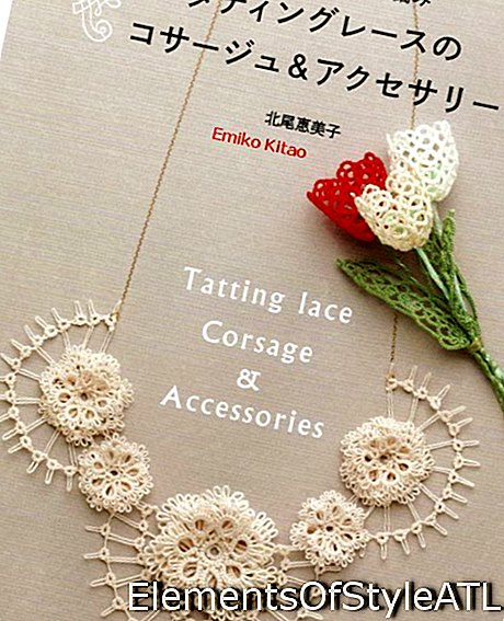 couverture de Tatting Lace Corsage & Accessories par Emiko Kitao © 2015