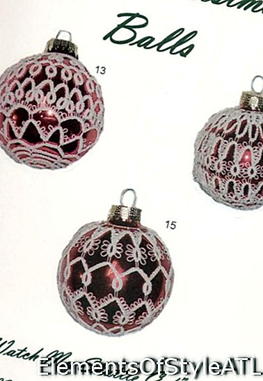 Обложка на Надин Nunnelley Tatted Christmas Ballls за книга №1